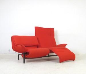 lot 4240237 vico magistretti 2er lounge sofa modell. Black Bedroom Furniture Sets. Home Design Ideas