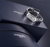 Raymond Weil 'Shine'. Ladies watch, steel with numerous diamonds - box + certificate 2016