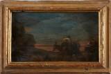 Hollänsk skola oljemålning