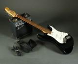 Fender Squier elektrisk med øveforstærker (2)