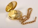 Germa, fickur, 14 k guld