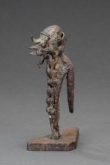 Steffan Herrik, cd. 'Morgengalning', skulptur af metal