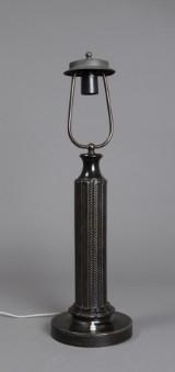 Just Andersen. Bordlampe, diskometal, model 1858
