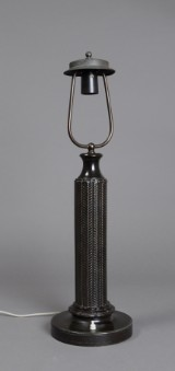 Just Andersen. Table lamp, Disko metal, model 1858