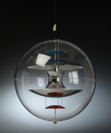 Verner Panton. VP-Globe pendant,  Ø 50 cm.