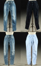 Hugo Boss,Dondup, Rag & Bone, Tiger, Samling jeans, storlek 27/28 (4)