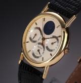 Paul Picot 'o Aristos' midsize watch, 18 kt. gold, triple calendar, 1990's