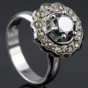 Diamant ring ca. 1.80 ct.