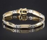 Brilliant-cut diamond bracelet approx. 0.48 ct.