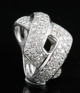 Diamond ring in 18kt approx. 2.46ct, By Kapriss