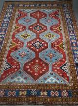 Ardebil, semiantik handknuten matta, 250 x 158 cm