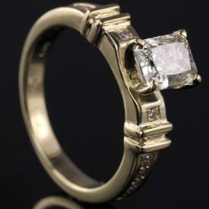Diamant ring ca. 1.41 ct.