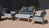 Lounge havesæt, model Cayenne - Light Grey
