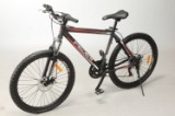 "26"" Mountainbike Hardtail. Sort, 48 cm stel"