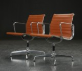 Charles Eames. A pair of armchairs, model EA-108 (2)