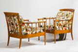 Kerstin Horlin-Holmquist, OPE, chairs / arm chairs / lounge chairs, model Skrindan, Sweden, wood (2)