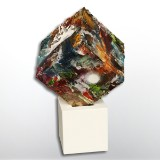 Sky Dweller, skulptur, 'The Secret is inside me'