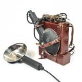 Äldre blixtutrustning med nätanslutning