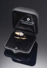 Ole Lynggaard Emeli diamond ring, 18 kt gold