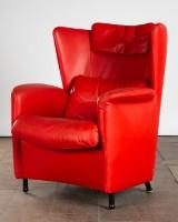 De Sede, Sessel / Lounge Chair, Modell 'DS23', Leder