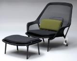 Ronan & Erwan Bouroullec. 'Slow' lounge chair, with ottoman, year 2014 (2)