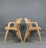 Marco Dessi, plywood chairs model Prater Chair for Richard Lampert (6)