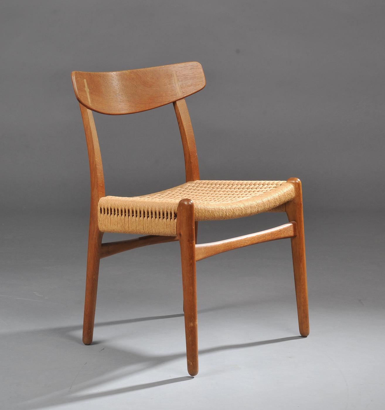 Best pris på Carl Hansen & Søn CH23 Chair Stoler