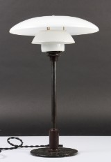 Poul Henningsen. PH 3½/2 table lamp, Patented