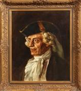 Julius von Ehren, portræt. Oliemaleri