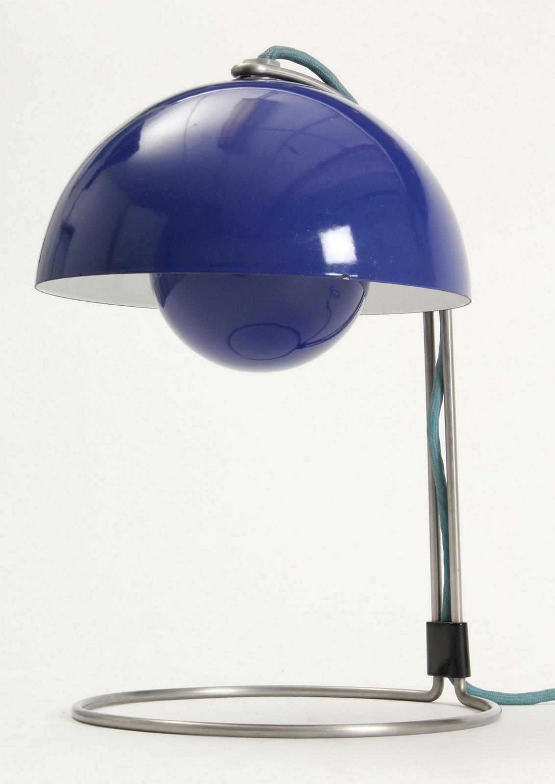 Verner Panton Flowerpot Bordlampe Lauritz Com