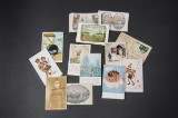 Samling af ældre postkort