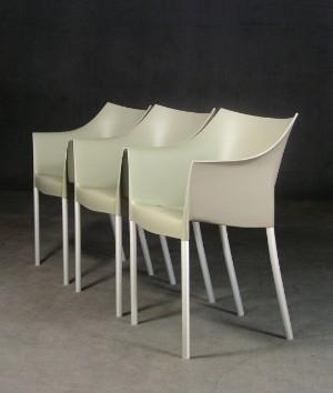 m bel philippe starck 3 st hle 39 dr no 39 f r kartell 3 de hamburg gro e. Black Bedroom Furniture Sets. Home Design Ideas