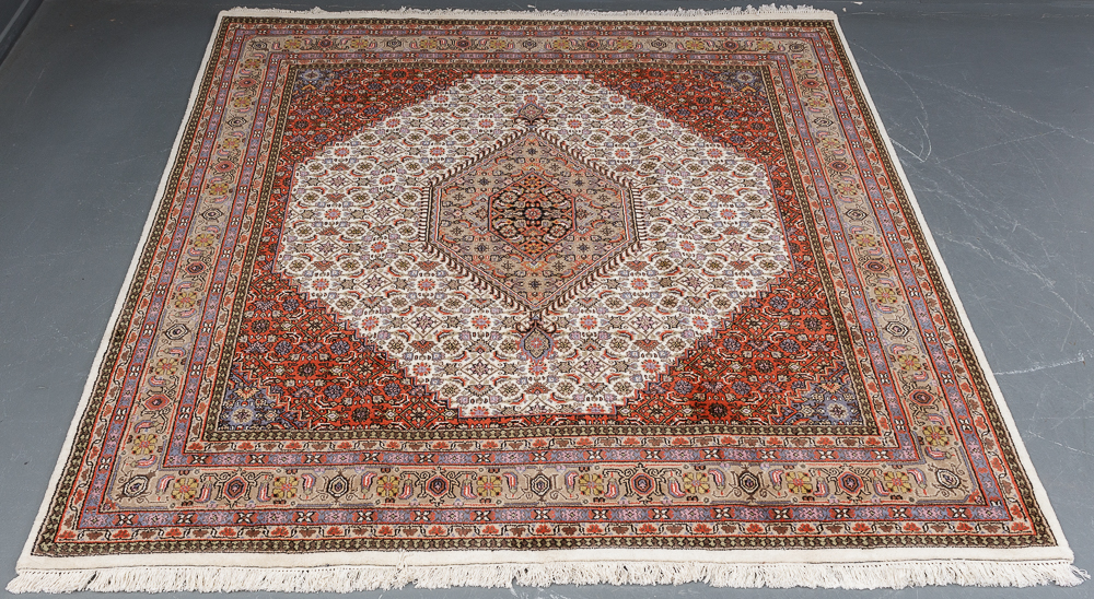 Indo Bidjar 252 x 251 cm - Indo Bidjar tæppe i målene 252 x 251 cm