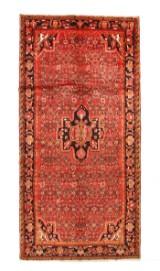 Persisk Hamadan tæppe, 325x158 cm.