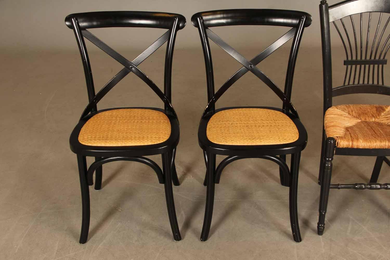 spisebordsstole med flet