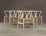 H. J. Wegner. Chairs, Wishbone Chair (6)
