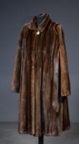 Saga Mink coat, size 46