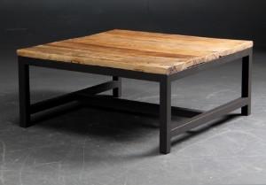 Vare: 3102346 Kvadratisk sofabord. genbrugs elmetrae