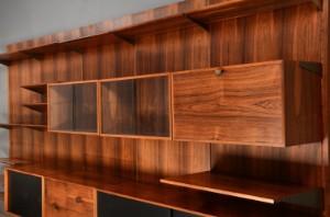 finn juhl shelving system brazilian rosewood. Black Bedroom Furniture Sets. Home Design Ideas
