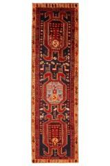 Persisk Meshkin løber, 310 x 90 cm.