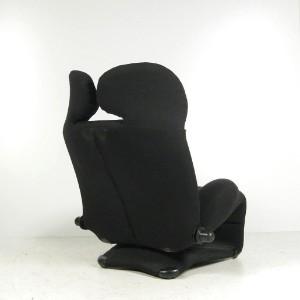 toshiyuki kita verstellbarer sessel wink f r cassina. Black Bedroom Furniture Sets. Home Design Ideas