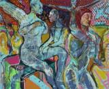 Hans Oldau Krull. 'Engle med prikker' 2014