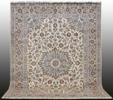 Oriental carpet, pale Keshan, 390x295 cm