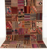 Matta, Kelim patchwork 310 x 202 cm