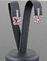 Sterling silver earrings (2).
