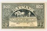 Danmark. 500 kroner pengeseddel 1931