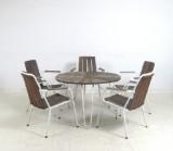 Gartengruppe der 1950/60er Jahre mit Tisch und Stühlen (6)