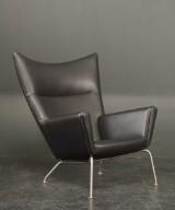 Hans J. Wegner, lounge chair, model CH-445, Wing Chair
