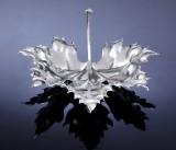Mario Buccellati, Milano. 'Leaf dish' af sterlingsølv udført som ahornblad