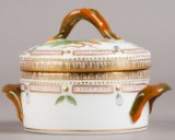 Royal Copenhagen, Flora Danica, small sugar canister with lid